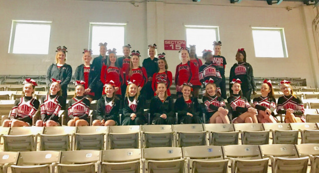 Competition Cheer: Both Squads FIRST PLACE Finishes!!