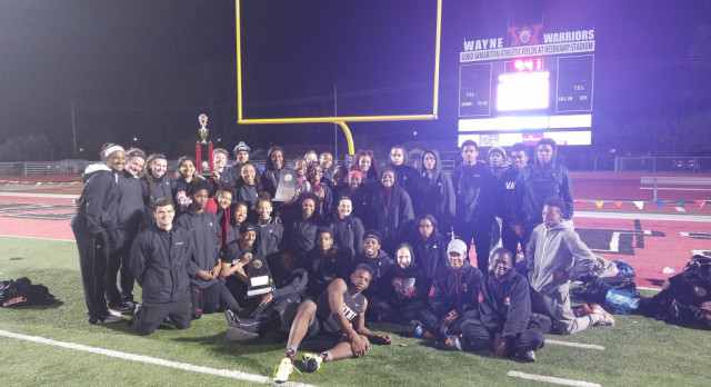 Track:  Boys – 1st, Girls – 2nd at Warrior Relays.