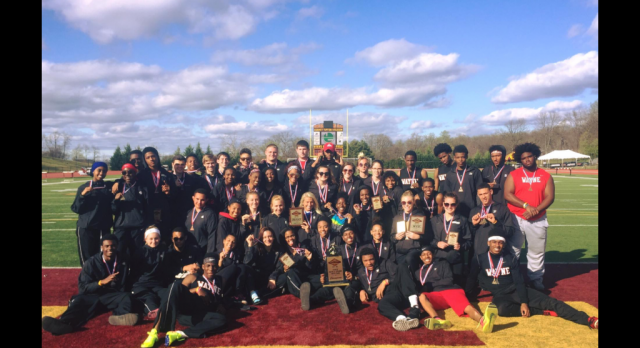 Track: Tri-City Invite, Boys place 1st Girls place 2nd!!