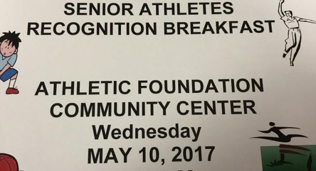 Senior Breakfast: Award Winners & Pictures