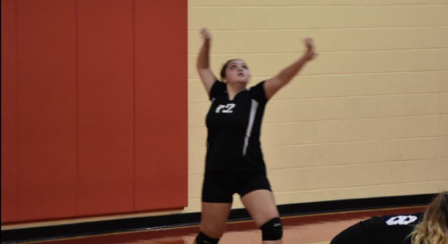 7/8 Girls Volleyball: vs Xenia
