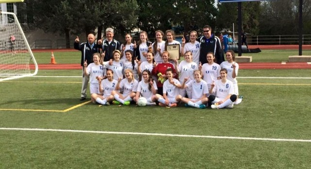 Varsity Girls Soccer claims the win at Section Finals!