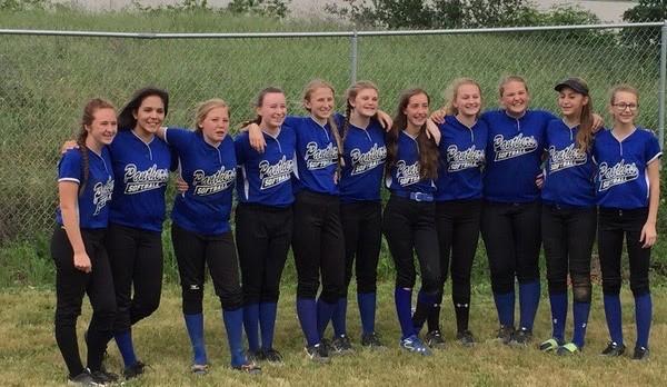 """Jr. High """"A"""" Softball team goes undefeated!"""