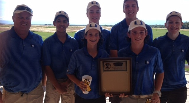 Boys Golf League Champs