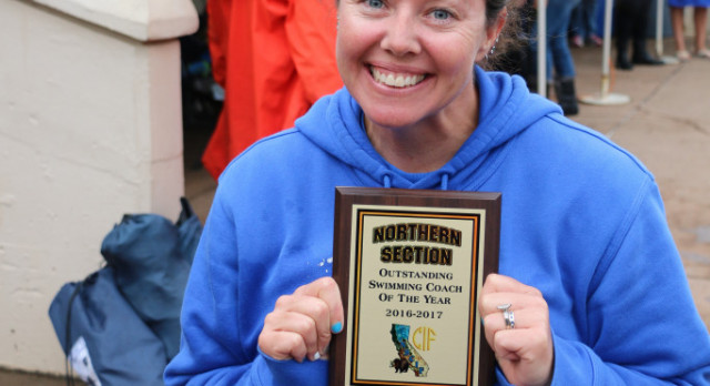 Michelle Johnson named Coach of the Year