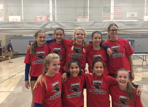 Jr. High Volleyball NVAC-B Team Tournament Champs!