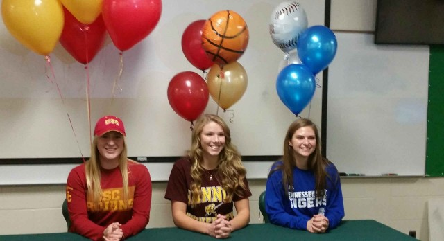 3 College Signings at Kettering