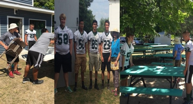Thanks for Volunteering Captains Football