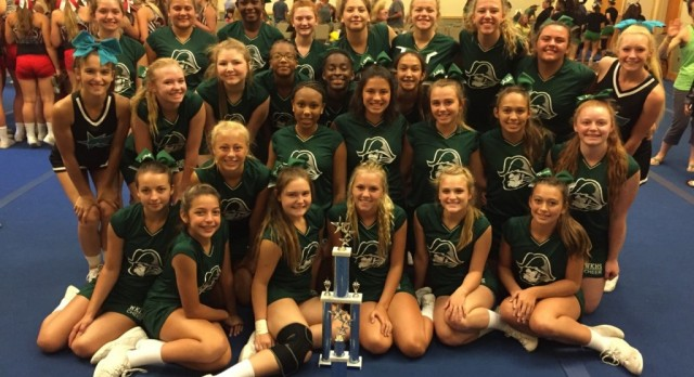 Kettering Cheer Outstanding at Camp