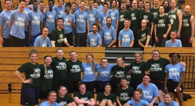 Kettering vs Mott Alumni Basketball Game a Success