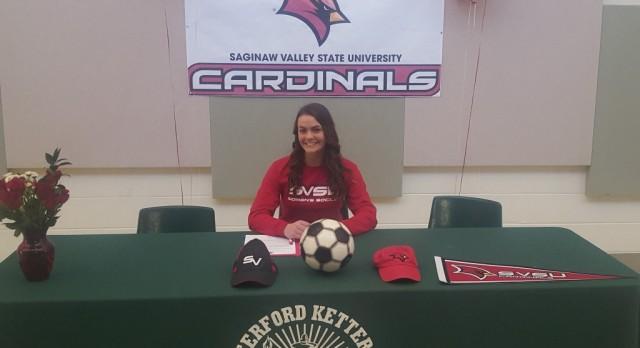 Alyssa Watts to Play Soccer at SVSU