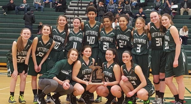Kettering Girls Basketball District Champs