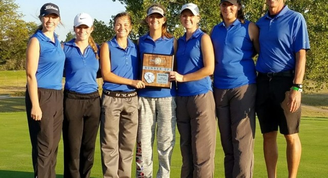 Cheney High School Girls Golf State Bound!