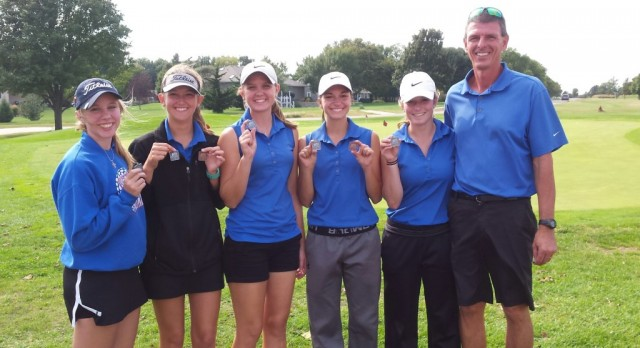 CHS Lady Cardinals Golf runner-up at Buhler Invitational