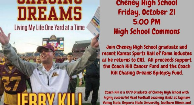 Jerry Kill Comes Home to Cheney