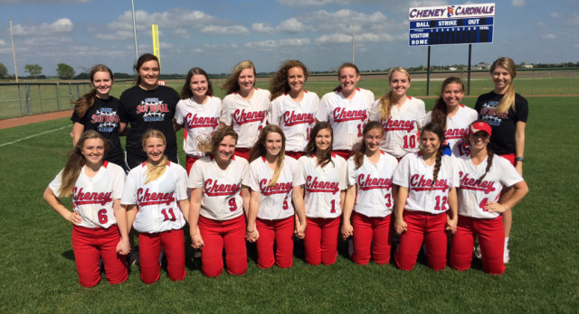Cheney Softball is Headed to State!
