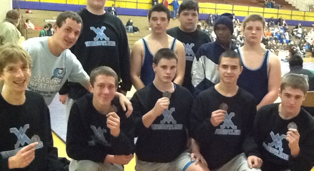 JV Wrestling Competes @ Bay City Invitational