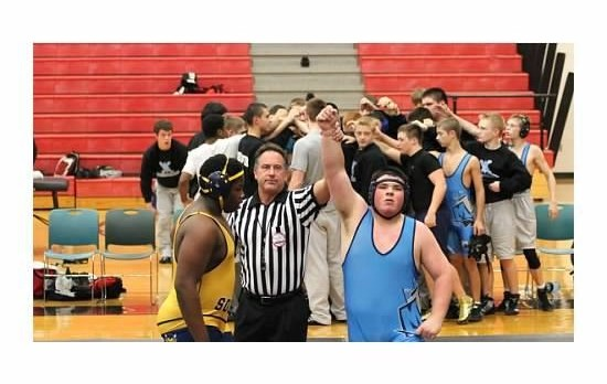 Mott Wrestling Splits Dual Meet