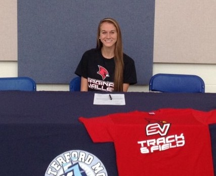 Morgan Fuerst To Run at SVSU in 2016/17
