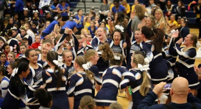 Mott Competitive Cheer off to a Strong Start