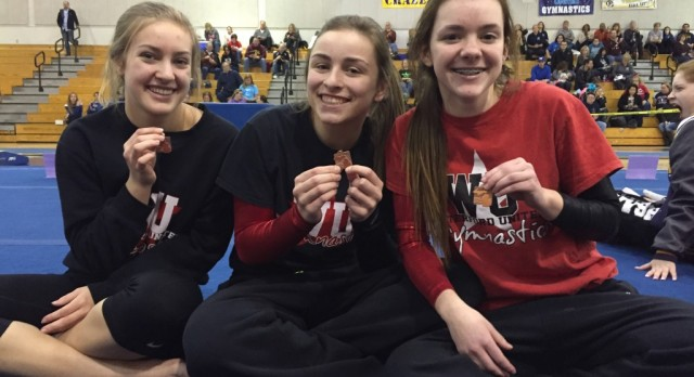 Gymnasts Qualify for States!