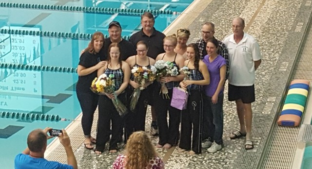 United Swim Celebrates Senior Night