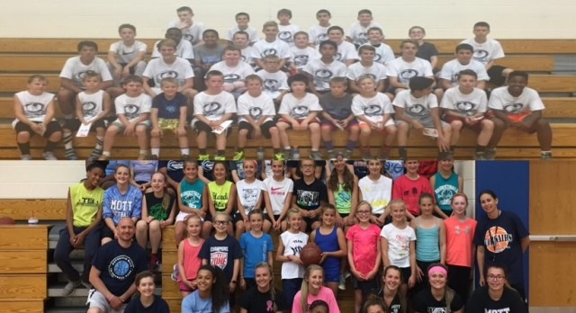 Mott Basketball Boys and Girls Holiday Camps