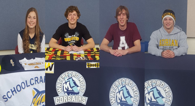 4 Athletes To Play in College