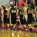 2013-2014 Lady Zebra Basketball vs Caston