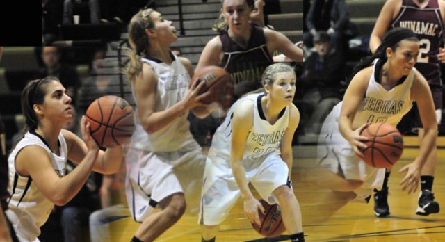 Four Zebras Named to All-TRC Girls Basketball Team