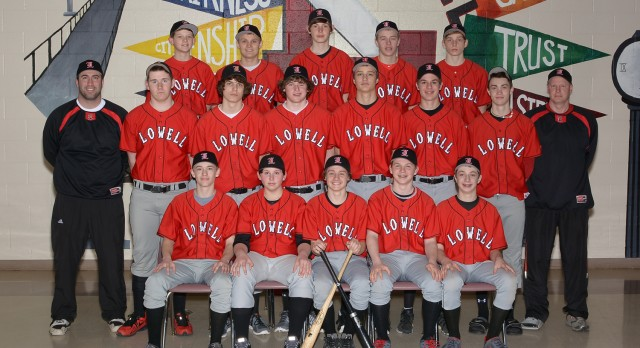 Lowell High School Baseball Freshman beats Sparta High School 9-6