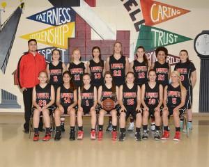 JV Girls Basketball 2014-2015