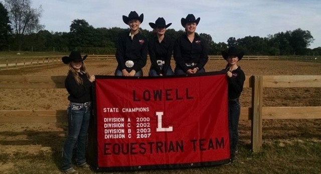 Lowell Equestrian Returns to State Finals