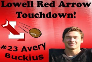 Avery Touchdown Graphic