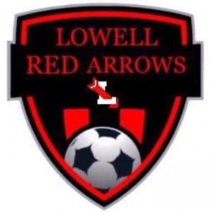 Lowell soccer logo.
