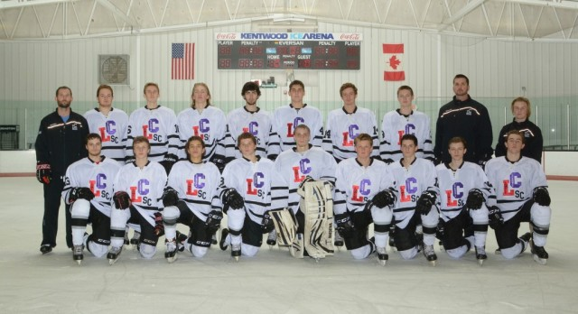 Caledonia High School/Lowell High School Boys Varsity Hockey beat West Catholic High School 3-2