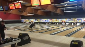 Landon Smith excelled for Lowell in today's bowling match vs. Jenison