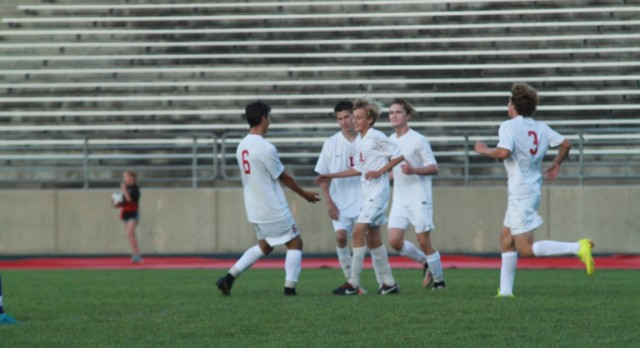 Lowell High School Boys Varsity Soccer beat Greenville High School 8-0
