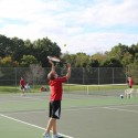 JV Tennis vs. Unity Christian (10/3/2016)