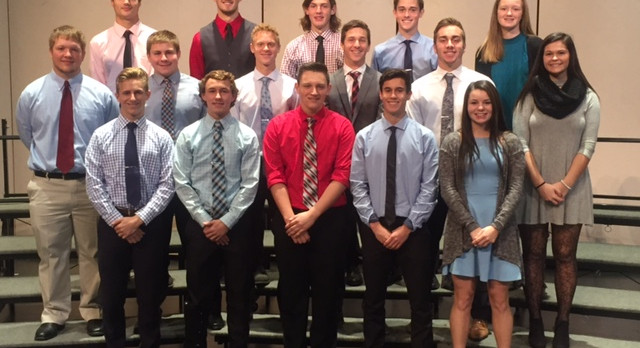 Fall OK White All Conference Athletes