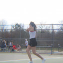 Varsity Girls Tennis vs. Wayland (4/14/2017)