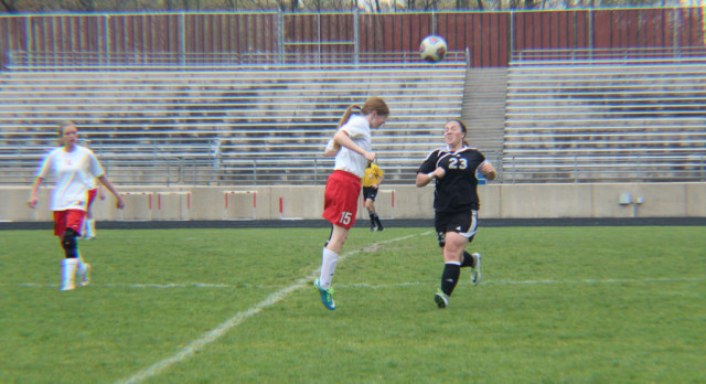 Lowell High School Girls Junior Varsity Soccer beat Cedar Springs High School 3-1