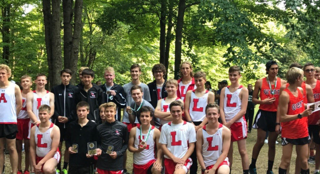Lowell High School Boys Varsity Cross Country finishes 2nd place