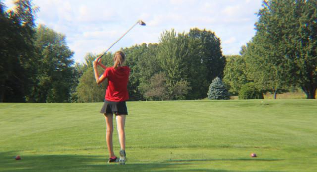 Lowell High School Girls Varsity Golf beat Lakewood High School 190-235