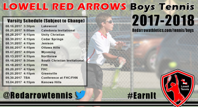 Previewing the 2017 Boys Tennis Season