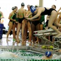 Varsity Girls Swim &  Dive 10-10-2014 sections @ Edina