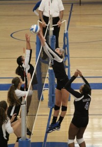 HHS Volleyball vs. Roseville Volleyball 9-3-14 - Hopkins Royals - Hopkins High School Sports