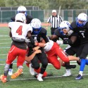 Varsity Football win over Coon Rapids 8/22/15