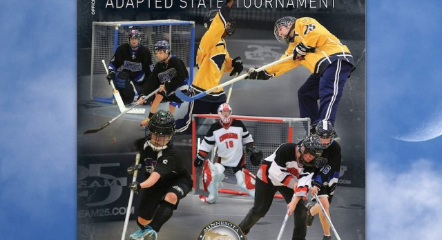 Robins Adapted Floor Hockey in State Tournament