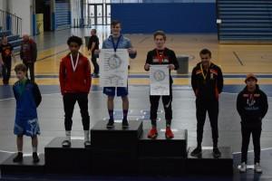 Jesse Sattler, 126 lbs., Champion